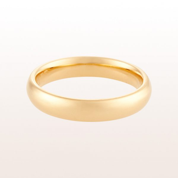Ehering aus 18kt Gelbgold. Breite von 2,5mm bis 8mm