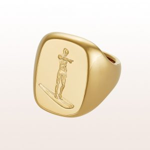 "Ring ""Silversurfer"" Gold"
